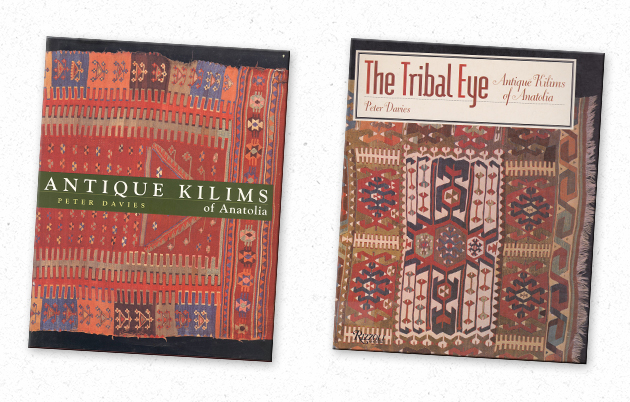 Antiuqe Kilims of Anatolia & The Tribal Eyes