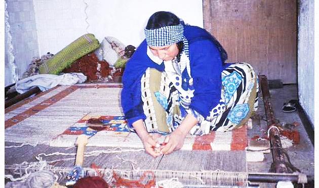 絨毯織りカシュガイ20re