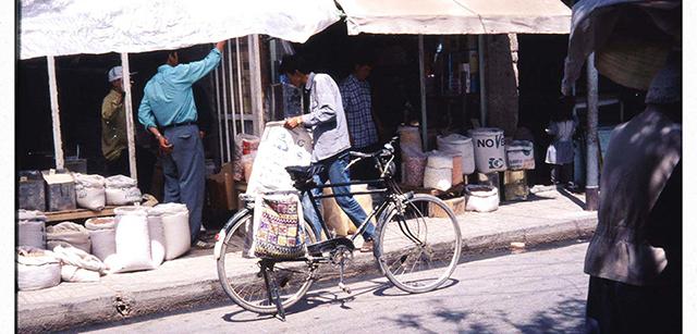 640自転車にサドルバック2